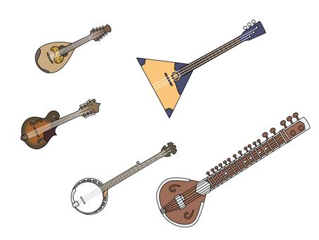 다양한 현악기