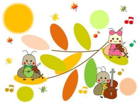 音樂軍團在森林裡
