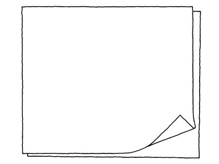 Notepad (turning) Black and white
