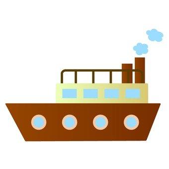 Retro ship model