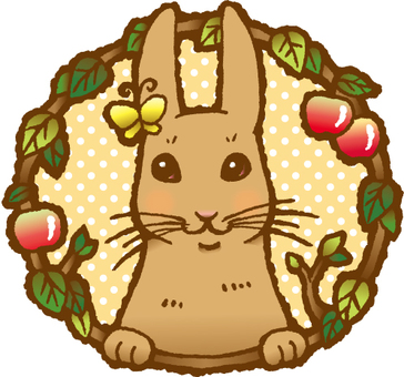 Rabbits and apples