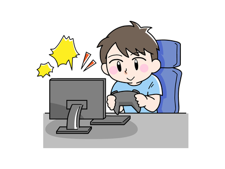 Men who play games happily
