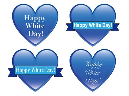 White Day Illustration