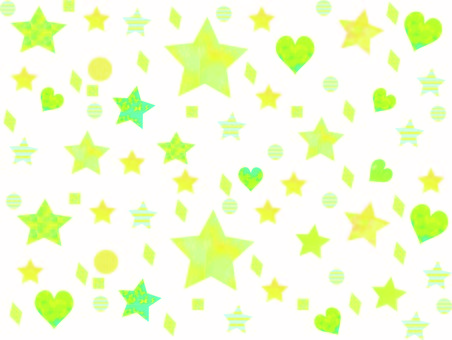 Background Glitter Stars and Hearts
