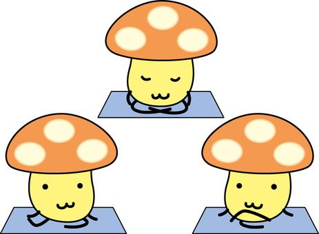 蘑菇瑜伽教室
