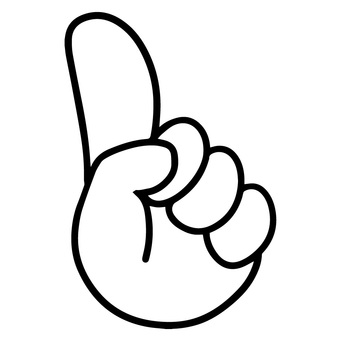 Hand sign icon finger