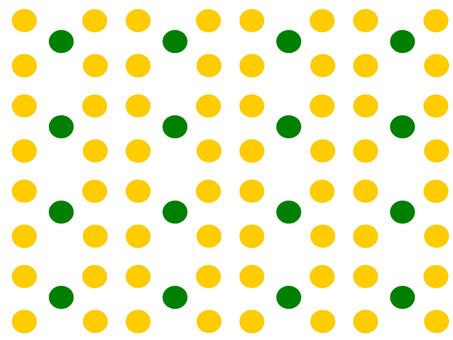 明亮的彩色波爾卡圓點設計