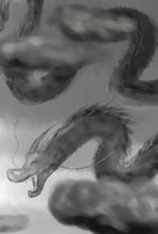 Dragon (Ink painting style - Dragon
