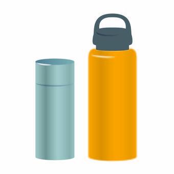 Illustration of a water bottle
