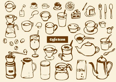 Cafe icon tea