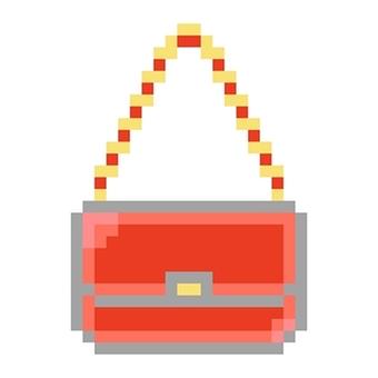 Enamel's shoulder bag red