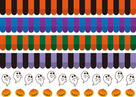Halloween color tent line assortment