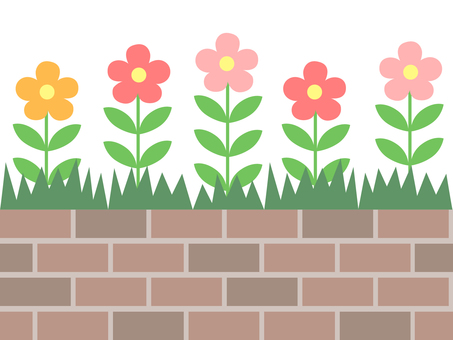 Brick Flower Bed (Flower)