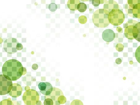 """Bubble checker frame """"Green"""""""
