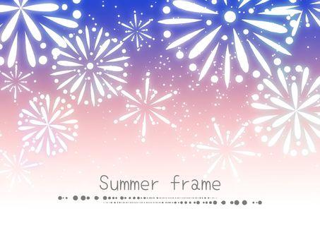 Fireworks Frame 05 / Purple