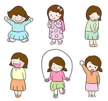 Girls various
