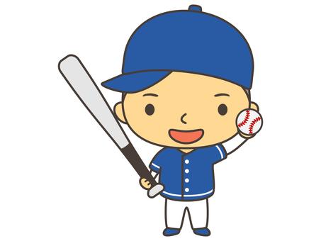 Baseball person B1