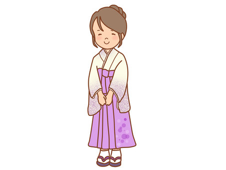 Hakama ladies
