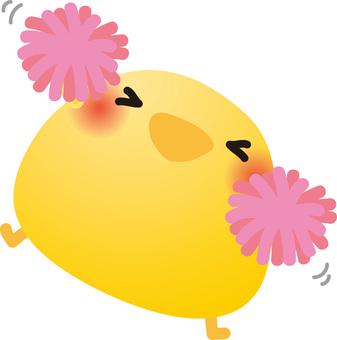 Gambare chick