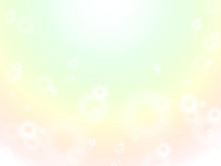Shining light · Spring color