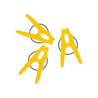Washing scissors
