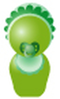 Simplified human-green (baby)