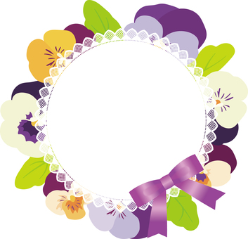 Pansy garlands