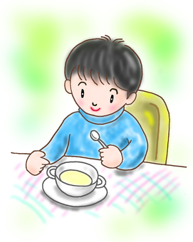 Children's Illustration - Breakfast