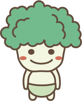 Broccoli character 2
