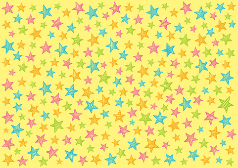Hand drawn stars _ background