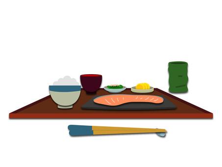 鮭 Set meal