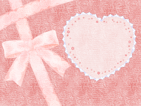Ribbon towel background frame