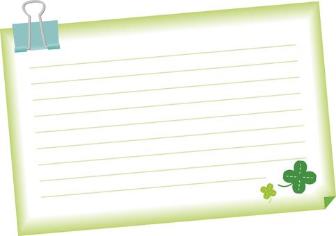 Leaf notes