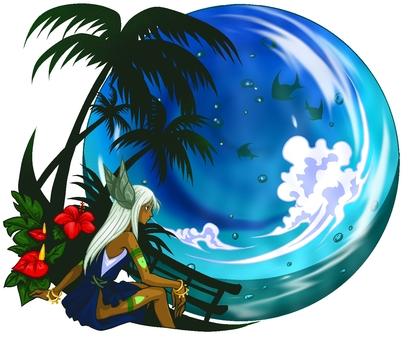 熱帶國家的珍珠