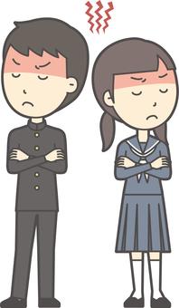 中学生男女セット-068-全身