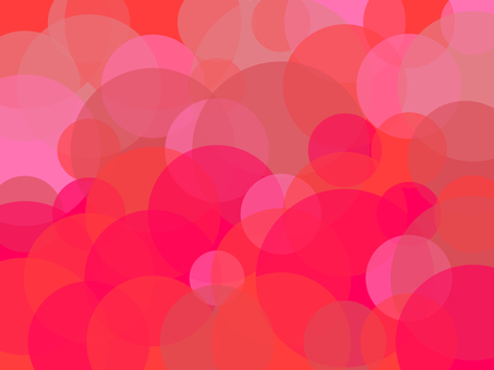 Strawberry image circle pattern background