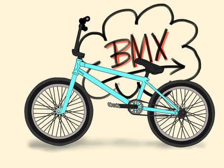 BMX (with logo)