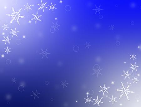雪のフレーム2