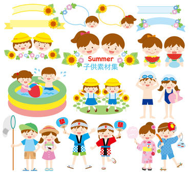 Children's set _ Summer 01