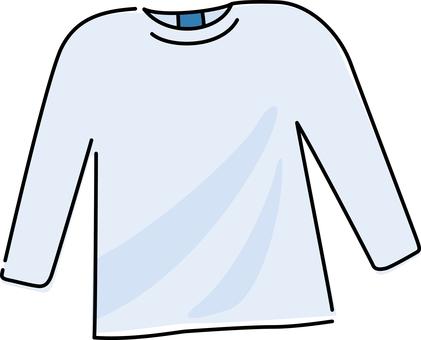 Shirt cut-and-sew t-shirt