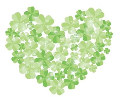 Heart shaped clover 02