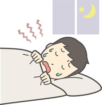 中学生学ラン男性-393-全身