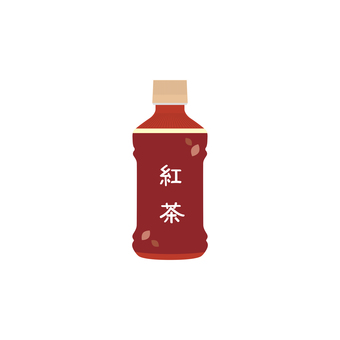 Tea plastic bottle