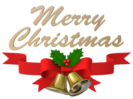 Merry Christmas Bell Ribbon Hiiri 1