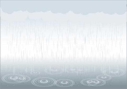 Brush series rain