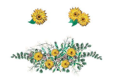 夏天的花束