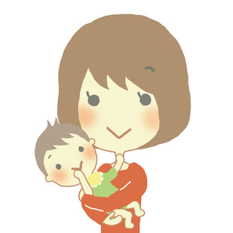엄마와 아기 1
