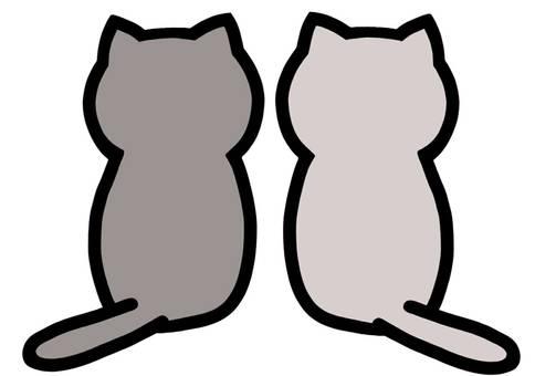 고양이 쌍둥이 고양이