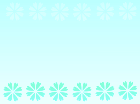 Background material · flower (aqua)