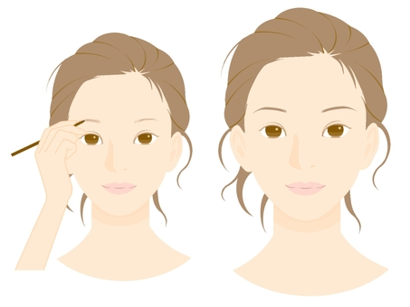 Makeup Procedure (3) Eyebrow